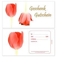 Geschenkgutscheine -Tulpe-