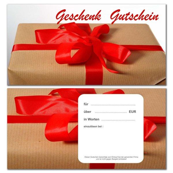 Geschenkgutscheine -Paket-