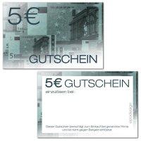 Geldgutscheine -5 €-