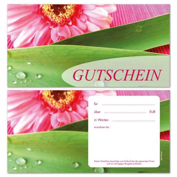 Geschenkgutscheine -Blüte-