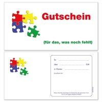 Geschenkgutscheine -Puzzle-