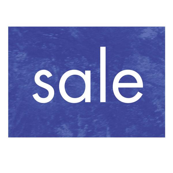 Werbeplakate DIN A4 -SALE- blau, Querformat
