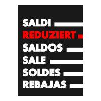 Werbeplakate DIN A4 -REDUZIERT- schwarz/rot