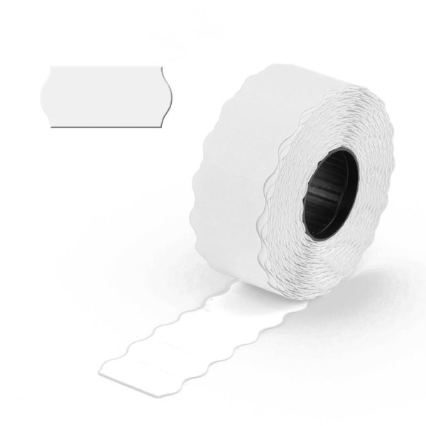 Preisauszeichner Etiketten 26x12mm weiß 1-zeilig