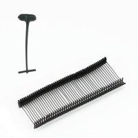 1.000 Heftfäden schwarz STANDARD 40 mm -TESTPACK-