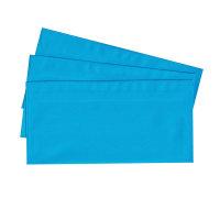 20 Briefumschläge nassklebend DIN lang, blau