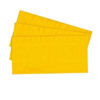 20 Briefumschläge nassklebend DIN lang, gelb