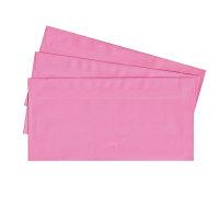 20 Briefumschläge nassklebend DIN lang, rosa